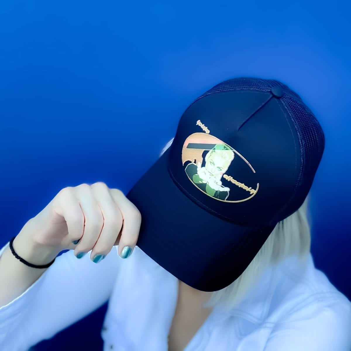 cap streetwear yours sincerely navy make it pop art limited edition